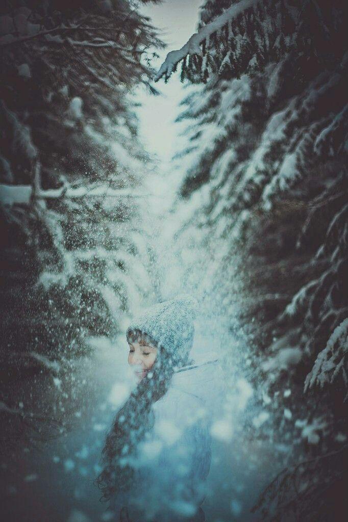 #FreeToEdit  #photography  #girl  #nature  #winter