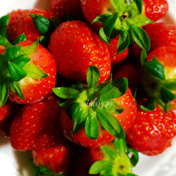 colorful emotions strawberry freetoedit