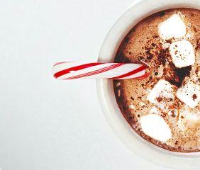 goodmorning chocolate candycane macro photography