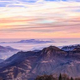 italy nature travel landscape sky