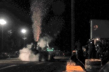 freetoedit steamengintractor tractor tractorpull nighttime