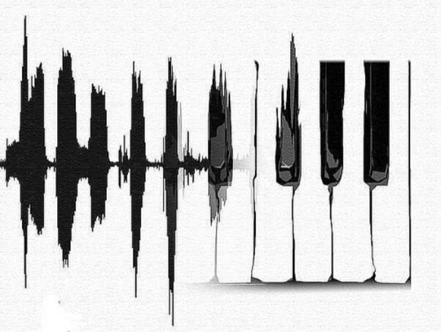 Piano Notes Music Tumblr Blackandwhite FreeToEdit