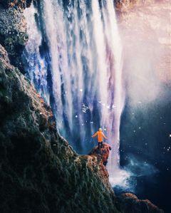 freetoedit nature explore iceland waterfall