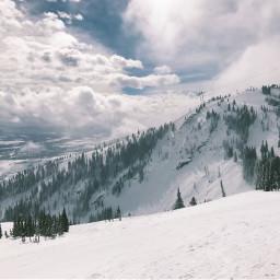 snow ski mountain FreeToEdit