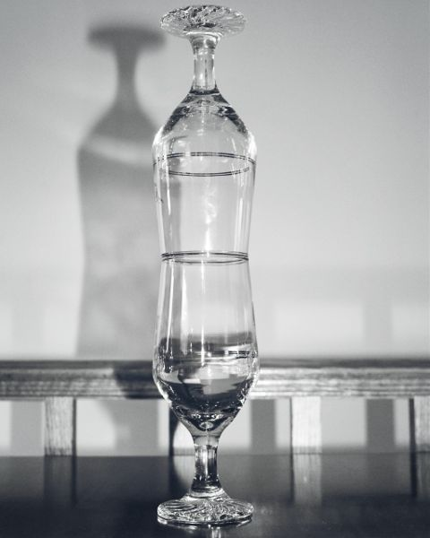freetoedit wineglass stacked blackandwhite blackandwhitephotography