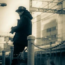 monochrome portrait ポートレート blackandwhite tokyo freetoedit