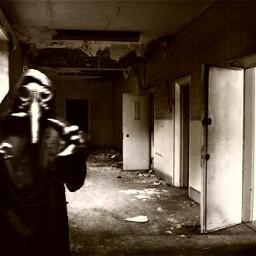 freetoedit plaguedoctor abandonedhospital creepy cool