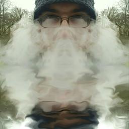 vapor fantasy oilpaintingeffect mirroreffect interesting