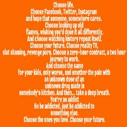 t2 trainspotting chooselife quotesandsayings