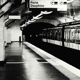 freetoedit subway metro paris blackandwhite