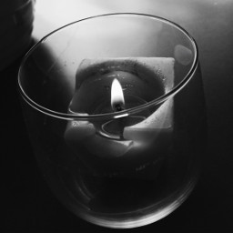 photography personal blackandwhite black candle